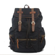 BLACK ARMY BACKPACK MOCHILAS DE HOMBRE http://www.ruavintage.com/es/tienda/mochilas/black-army-backpack