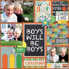 Image result for echo park boy cousins layouts