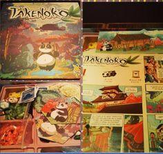Boardgame: Takenoko Players: 2-4players Playing Time: 1hour