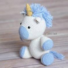 Yet Another Unicorn Free Crochet Pattern