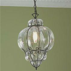 Fasciati Glass Lantern - contemporary - Pendant Lighting - Shades of Light