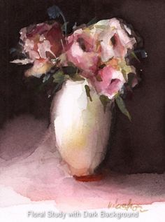 watercolour painting by Joyce Washor
