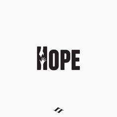Hope #hope #logo #typography #logotype #icon #lettering Shirt Logo Design, Best Logo Design, Brand Identity Design, Branding Design, Corporate Branding, Clever Logo, Creative Logo, Hope Logo, Lettering