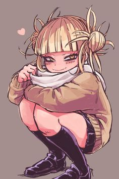 Himiko toga my héros academia, boku no hero academia, my hero academia manga, Boku No Hero Academia, My Hero Academia Manga, Manga Art, Manga Anime, Anime Art, Cute Anime Pics, Anime Love, Avatar, Chibi