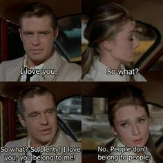 Breakfast at Tiffany's (1961) Absolutely adore, the book is fantastic of course, relate much more toooo the book but the movie will always be near and dear along with as a shade of Holly Golightly