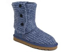 UGG Classic Cardy Boots 5819 Blue ugg outlet store $91.22