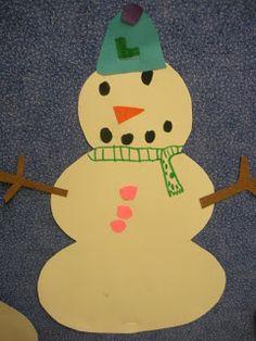 Just Add Clipart: snowman