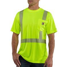 d79a94b070be Carhartt Men s Force High-Visibility Class 2 T-Shirt