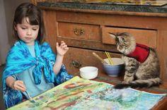 Ιρις Γκρέις: 5χρονη με αυτισμό δημιουργεί έργα τέχνης αξίας χιλιάδων λιρών!  thetoc.gr