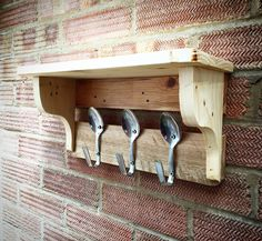 Spoon shelf by EveAmberLay on Etsy https://www.etsy.com/uk/listing/387557954/spoon-shelf