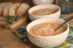 Crock Pot Tomato Basil Soup is thick, creamy, and delicious. The perfect dinner for a cold night and even better with warm crusty bread! Slow Cooker Soup, Slow Cooker Recipes, Crockpot Recipes, Soup Recipes, Great Recipes, Cooking Recipes, Healthy Recipes, Favorite Recipes, Healthy Foods