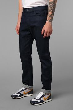 Levi's 508 Blue Tapered Jean