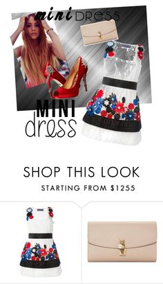 """""""Mini Me Contest Set"""" by oudanne ❤ liked on Polyvore featuring Emanuel Ungaro, Dolce&Gabbana and Badgley Mischka"""