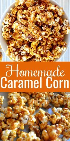 Homemade Caramel Corn Crunchy, salty, sweet easy to make Homemade Caramel Corn Recipe is a favorite for snacking, dessert or family movie night! A fall must make and favorite for Christmas gift giving from Serena Bakes Simply From Scratch. Caramel Corn Recipes, Popcorn Recipes, Best Dessert Recipes, Easy Dinner Recipes, Sweet Recipes, Snack Recipes, Amazing Recipes, Candy Recipes, Appetizer Recipes