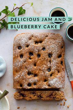 Winter Recipes, Spring Recipes, Breakfast Ideas, Breakfast Recipes, Lemon Jam, Vegetarian Recipes, Healthy Recipes, Blueberry Cake, Fun Cup