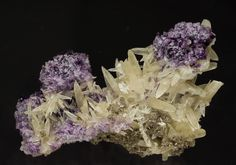 Fluorita con Calcita