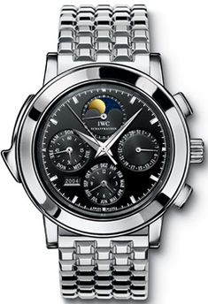 Click Image Above To Buy: Iwc Grande Complication Black Dial Platinum Automatic Mens Watch Iw927020