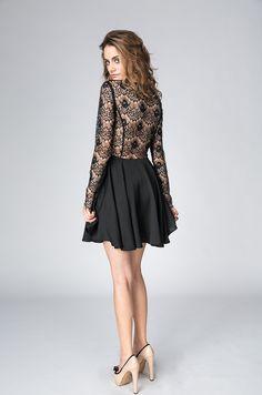 Need Your Love Long Sleeve Dress in Black by Keepsake