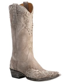 *Old Gringo Erin Embroidered Cowgirl Boots - Pointed Toe
