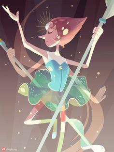 Pearl not really last of the series, hopefully adding steven/rose quartz too. [Garnet] [Amethyst]