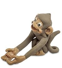 "ED-295 Фигурка ""Обезьяна"" скульптура обезьяна символ года 2016 новогодние подарки на новый год сувениры фигурка обезьянка новогодняя купить"