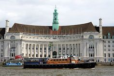 M.V Havengore passing County Hall.  #RiverThames #London #CountyHall #Havengore