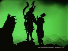 The Adventures Of Prince Achmed (subtítulos en español) History Of Animation, Animation Film, Best Color Schemes, Shadow Puppets, Chiaroscuro, Silhouette Vector, Silent Film, Amazing Art, Fairy Tales