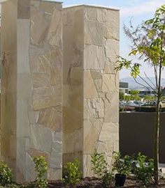 Image result for light coloured stone cladding nsw