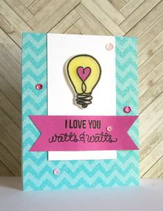 I created this card with the @Simon Says Stamp April Card Kit.  LOVE that kit!!