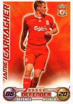 2008-09 Topps Premier League Match Attax #147 Jamie Carragher Front