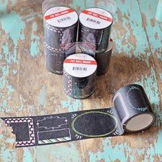 Washi Tape noir