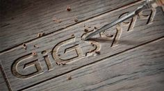 Uploaded image /home/content/p3pnexwpnas06_data03/66/2891466/tmp/GiGS999_Wooden-Carve-logo.tmp Photoshop Effects, Image House, Carving, Content, Graphic Design, Logo, Creative, Logos, Wood Carvings