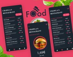Food Ordering App UI Concept PSD on Behance