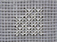 Filling Pattern – No. Hand Embroidery Art, Hardanger Embroidery, Embroidery Needles, Beaded Embroidery, Thread Up, Drawn Thread, Needle And Thread, Crochet Doily Patterns, Stitch Patterns