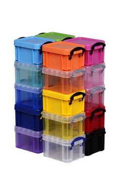 Really Useful Box Plastic Storage Box, Liter, 3 x 2 x Clear Plastic Box Storage, Storage Bins, Kitchen Storage, Liter Box, Essential Kitchen Tools, Little Boxes, Storage Organization, Digital Camera, Diy And Crafts