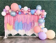 7 DIY Party Decorations That Are Perfect For Your Kid's Next Big Bash And finally, suspend a streamer wall. 7 DIY Party Decorations That Are Perfect For Your Kid's Next Big Bash Diy Birthday Decorations, Balloon Decorations, Baby Shower Decorations, Wedding Decorations, Party Wall Decorations, Balloon Gift, Balloon Garland, Balloons, Streamer Backdrop