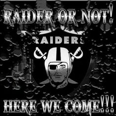 Raiders for life Okland Raiders, Raiders Stuff, Oakland Raiders Football, Raiders Baby, Best Football Team, Raiders Wallpaper, Raider Nation, Las Vegas, American Football