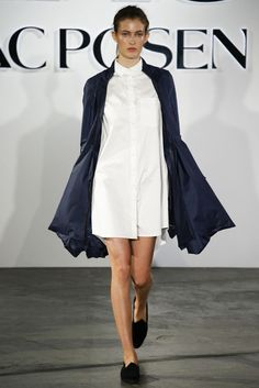 ZAC Zac Posen - New York Fashion Week 2015.
