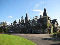 Ballathie House Hotel. Kinclaven,  Stanley,Perthshire UK  http://www.geograph.org.uk/photo/1520421