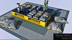 Mesa centro de Pallet - 3D Warehouse