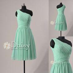 vintage mint bridesmaid dress