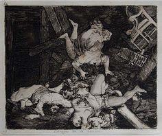 Lámina Los estragos de la Guerra  de Francisco de Goya       El próximo 4 de octubre, la casa de subastas Bogotá Auctions  organizará su ...