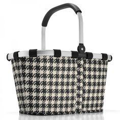 Carrybag Einkaufskorb fifties black - reisenthel  #black #white #shopper #bag
