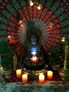 My mediation space. #meditate#meditation