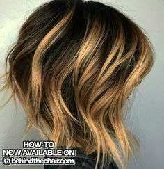HOW-TO, Pricing & Formulas!  #behindthechair #alinebob #lob #balayage #highlights #haircolor