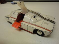 CAPTAIN SCARLET DINKY TOY MAXIMUM SECURITY VEHICLE BOTH RAMPS OKAY