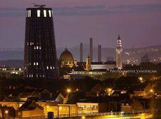 Charleroi Belgium. (Le nouvel hôtel de Police)