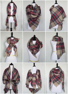 9 Ways to Style a Blanket Scarf for Petites