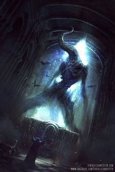 Nyarlathotep Cover by TentaclesandTeeth on DeviantArt Hp Lovecraft, Dark Fantasy Art, Fantasy Artwork, Dark Artwork, Arte Horror, Horror Art, Gothic Horror, Necronomicon Lovecraft, Lovecraftian Horror