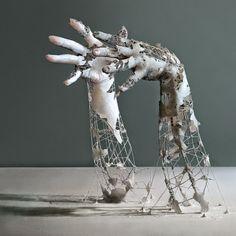 design-dautore.com: Sculptures of Decomposing Body Parts by Yuichi Ikehata
